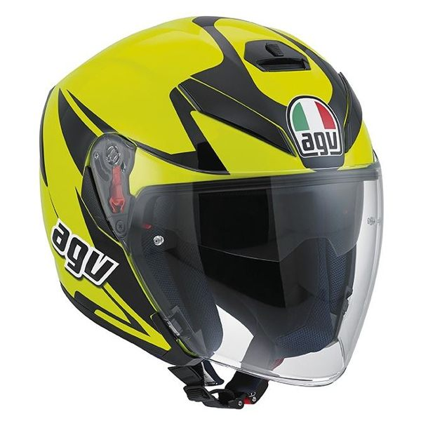 AGV K5 Jet - Threesixty Fluo Yellow/Black