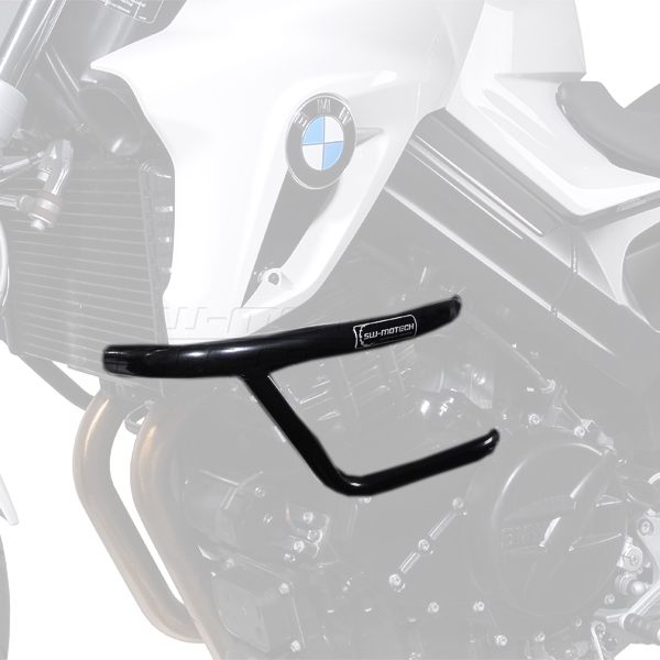 SW-Motech Crash Bars BMW F800 R 2009-/F800 S 2006-10 - Black