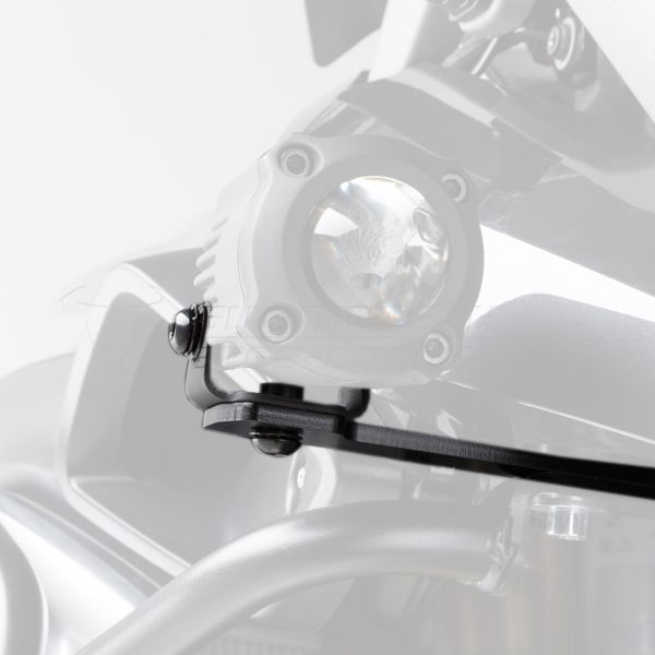SW-Motech Hawk Light Mount Set BMW R1200 GS 2013- - Black