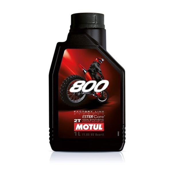 Motul 800 2T 1Ltr Factory Line Off Road Racing