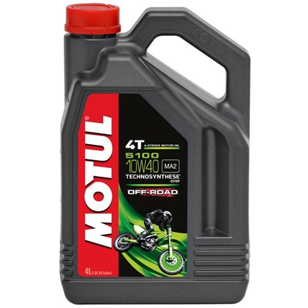 Motul 5100 10w40 4T 4Ltr Off Road