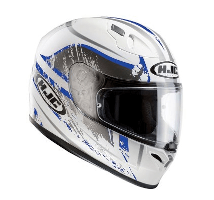HJC FG 17 Strike Motorcycle Helmet in Blue