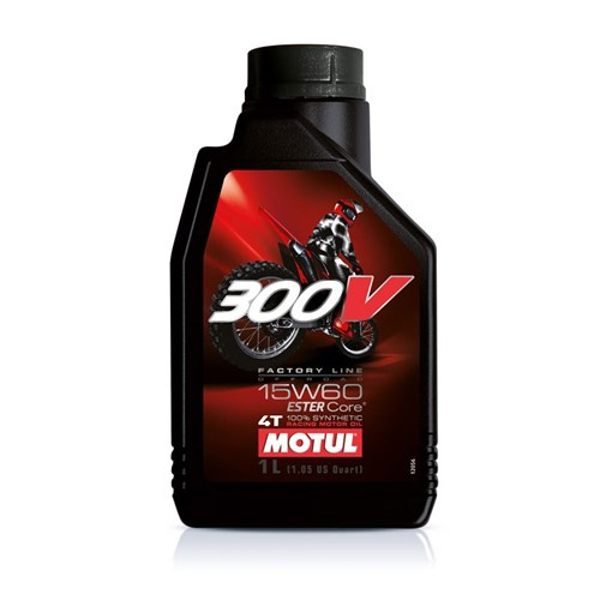 Motul 300v 15w60 4T 1Ltr Off Road