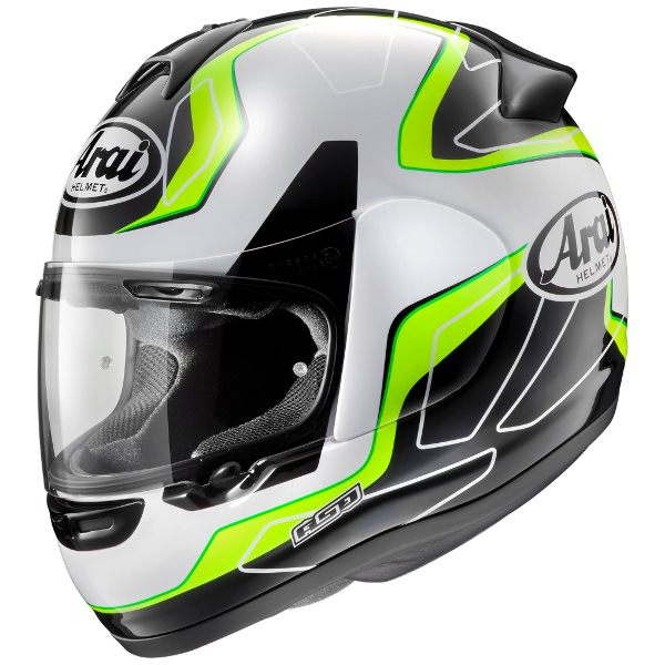 Arai Axces 3 - Flow Green
