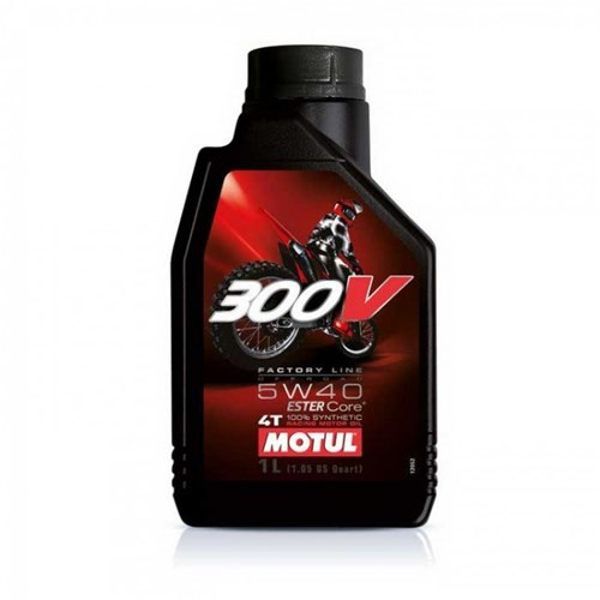 Motul 300v 5w40 4T 1Ltr Off Road