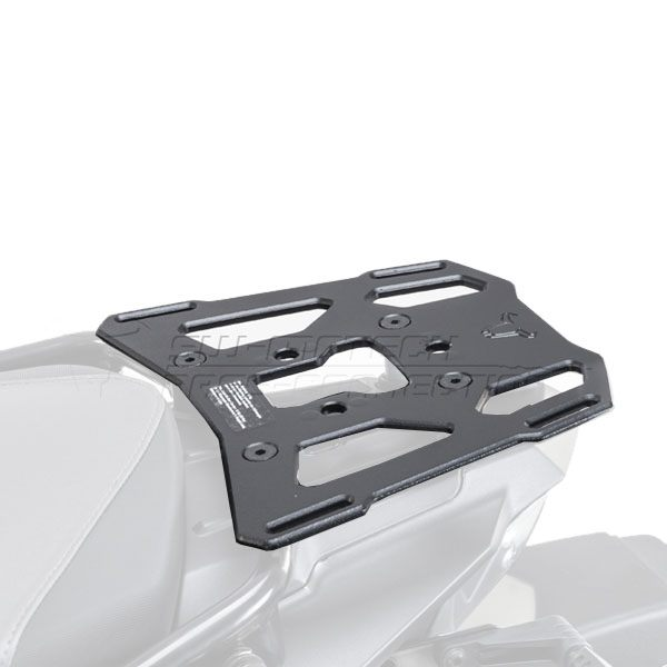 SW-Motech Aluminium Rack BMW F800 GS/F650 GS 2008- - Black