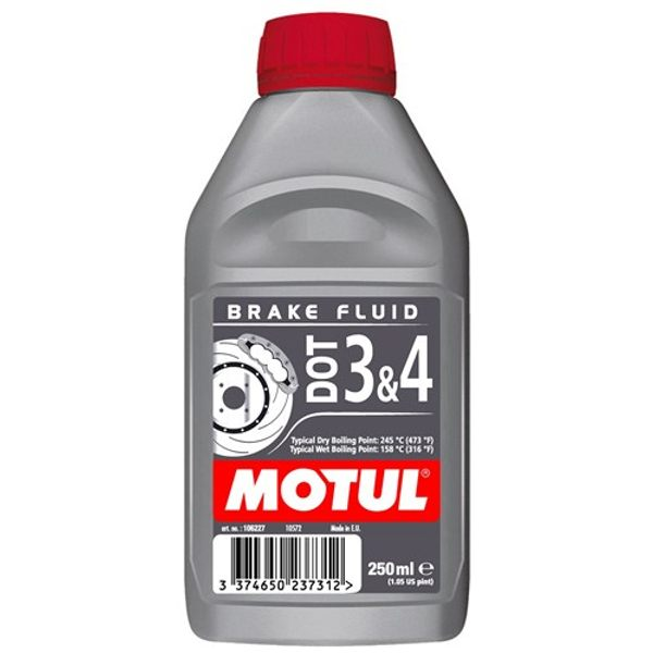Motul DOT 3 & 4 Brake Fluid 250ml