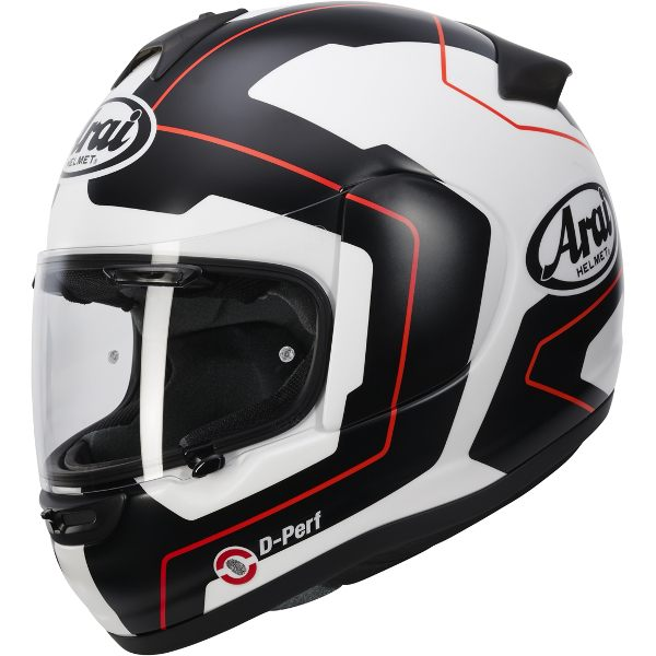 Arai Axces 3 - Line Red