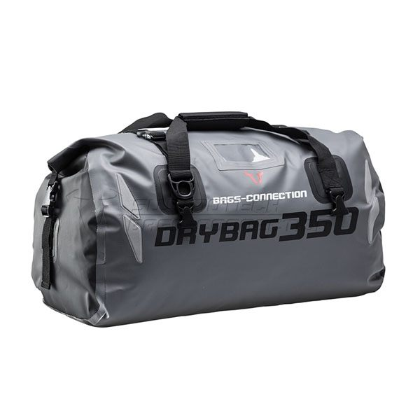SW-Motech Tailbag Drybag 350 Tarpaulin Waterproof 35L - Grey/Black