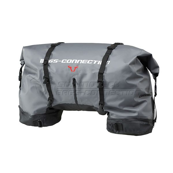 SW-Motech Tailbag Drybag 620 Tarpaulin Waterproof 62L - Grey/Black