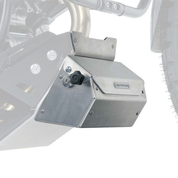 SW-Motech Toolbox For Engine Guard Model Specific - Silver