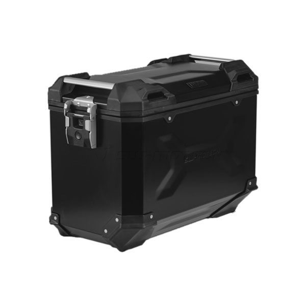 SW-Motech TraX Adventure Aluminium Box L 45L Left - Black