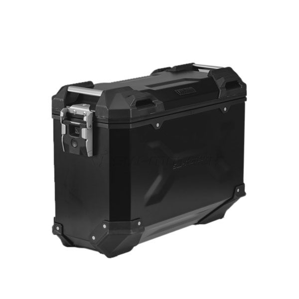 SW-Motech TraX Adventure Aluminium Box M 37L Left - Black