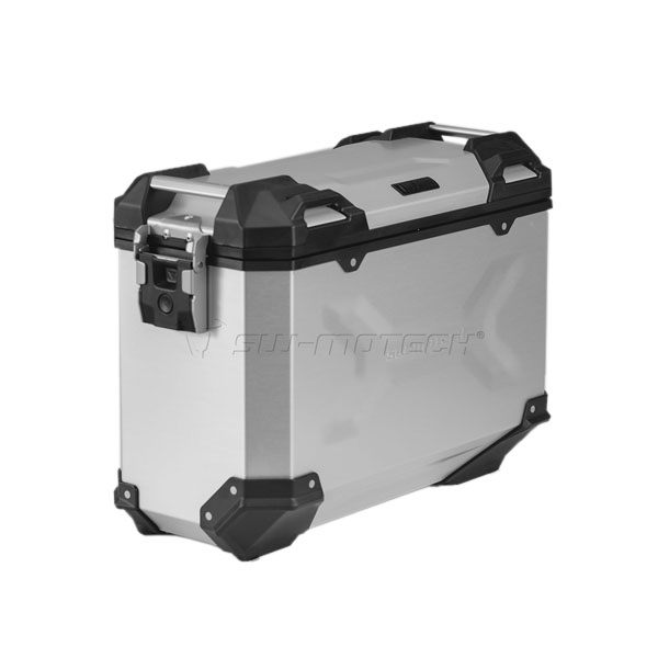 SW-Motech TraX Adventure Aluminium Box M 37L Right - Silver