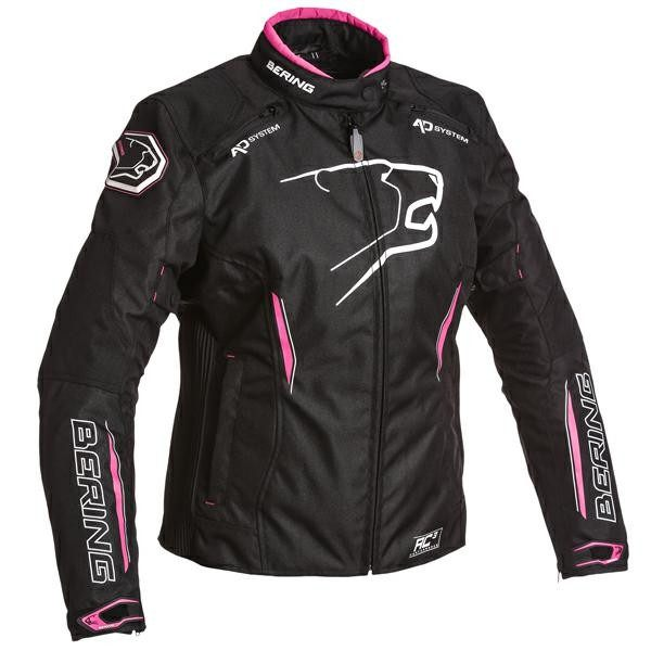 Bering Eskadrille Ladies Jacket - Black/Pink