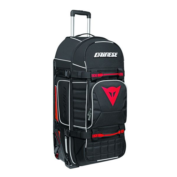 Dainese D-Rig Wheeled Bag - Stealth Black