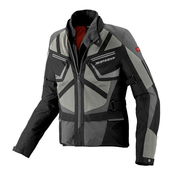 Spidi H2OUT Ventamax Waterproof  Jacket - Black