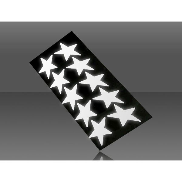 Respro I-Shots Reflective Stickers - Star