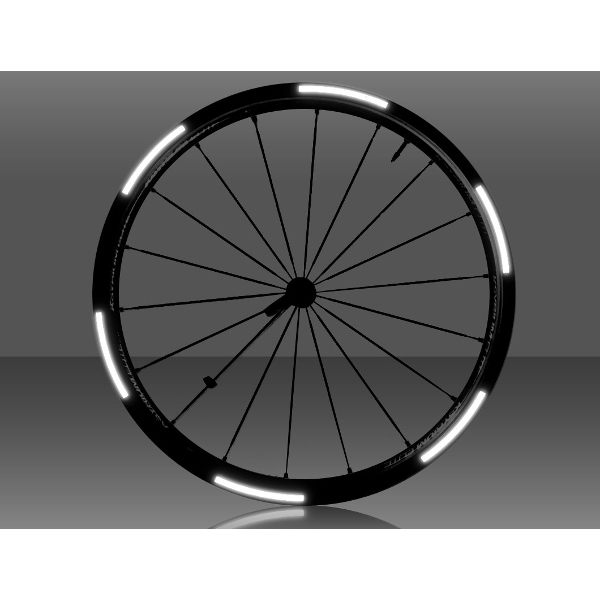 Respro I-Shots Reflective Stickers - Tyre