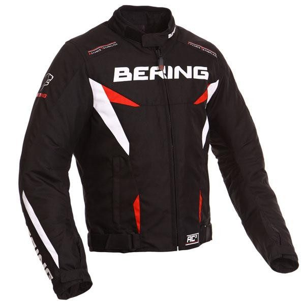 Bering Fizio Jacket - Black/Red