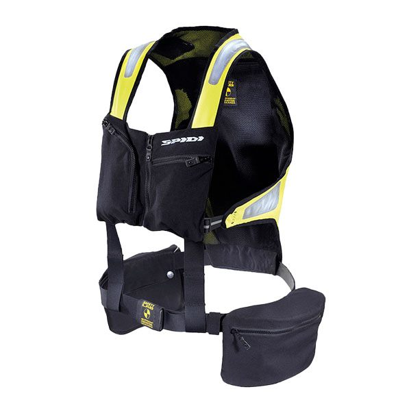 Spidi Safety Lab Kit H1 Life Vest - Black