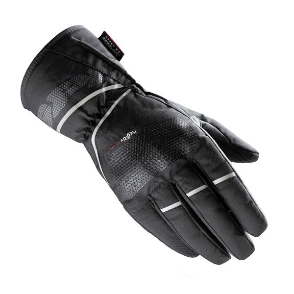 Spidi Zender Waterproof Ladies Gloves - Black/Ice White