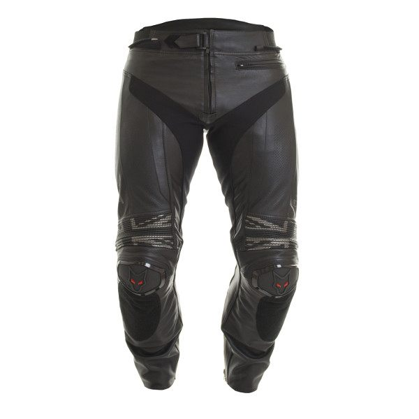 Wolf Nimbus 2402 Leather Jeans - Black