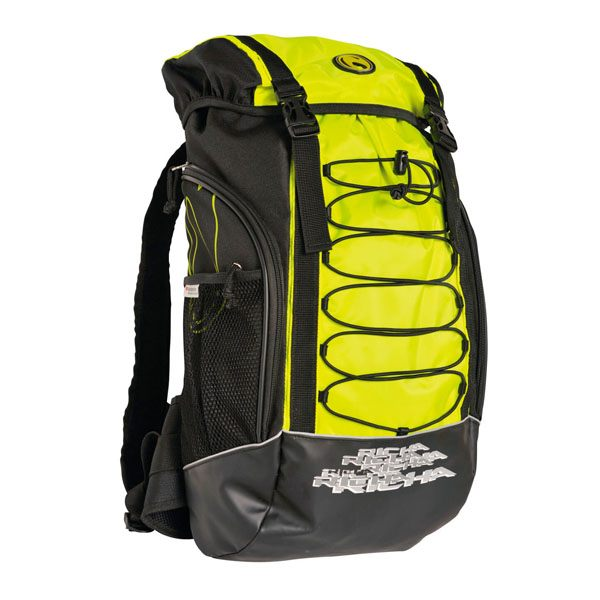 Richa Adventure Backpack - Black/Fluorescent