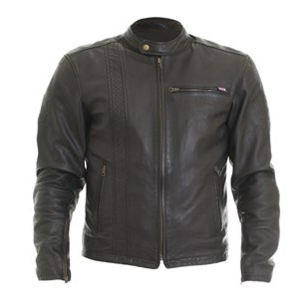 Wolf Spirit Vintage 2410 Leather Jacket - Black