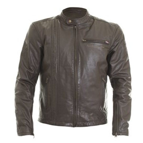 Wolf Spirit Vintage 2410 Leather Jacket - Brown