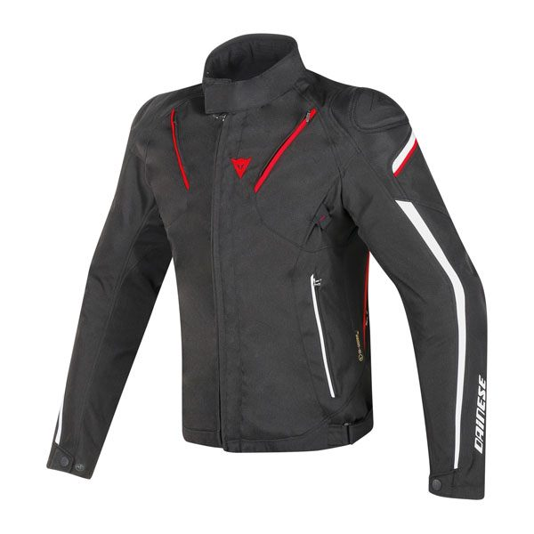 Dainese Stream Line D-Dry Jacket - Black/Red/White