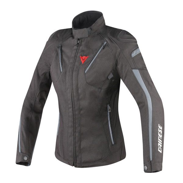 Dainese Stream Line Ladies D-Dry Jacket - Black/Ebony