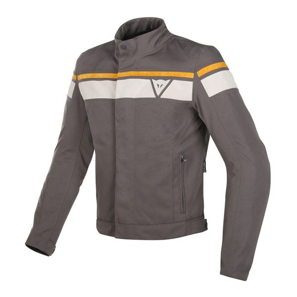 Dainese Blackjack D-Dry Jacket - Dark Brown/White