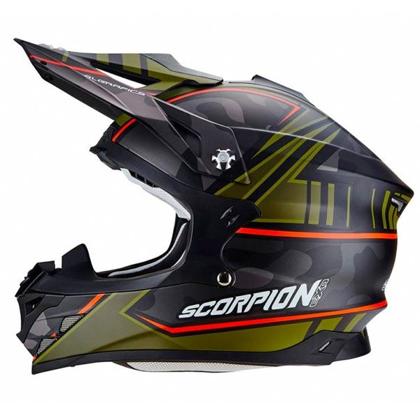 Scorpion VX-15 - Miramar Black/Green