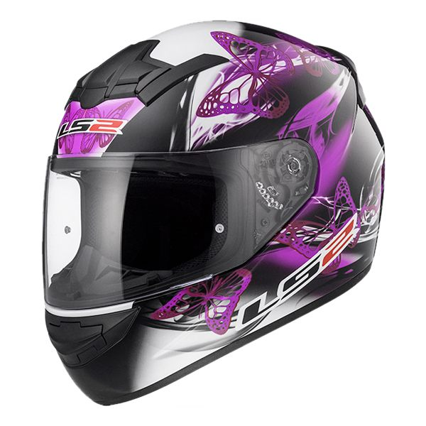 LS2 FF352 Rookie - Flutter Black/Purple