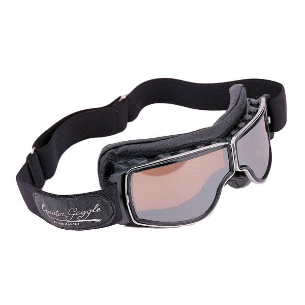 Davida Aviator T2 Goggles Chrome/Clear