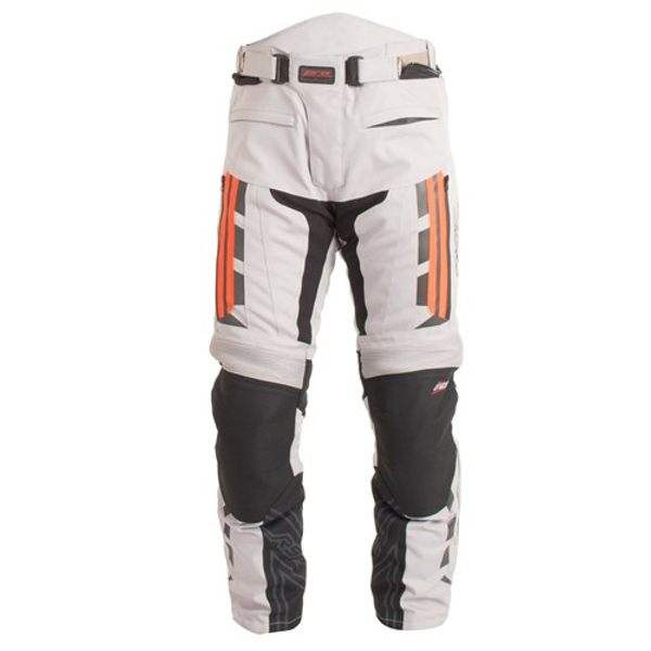 RST Pro Series Paragon 5 Trousers - Silver/Fluo Red