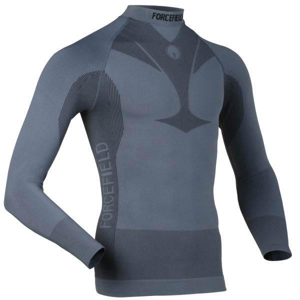 Forcefield Technical Base Layer Long Sleeve Shirt - Grey