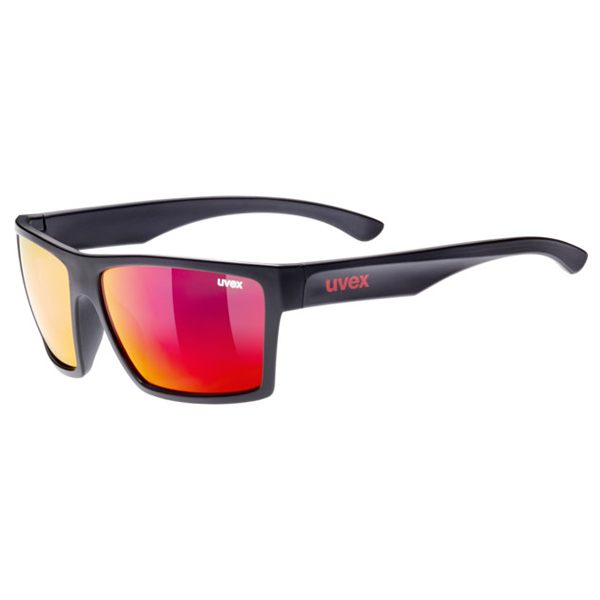 Uvex Sunglasses LGL 29 - Black/Red
