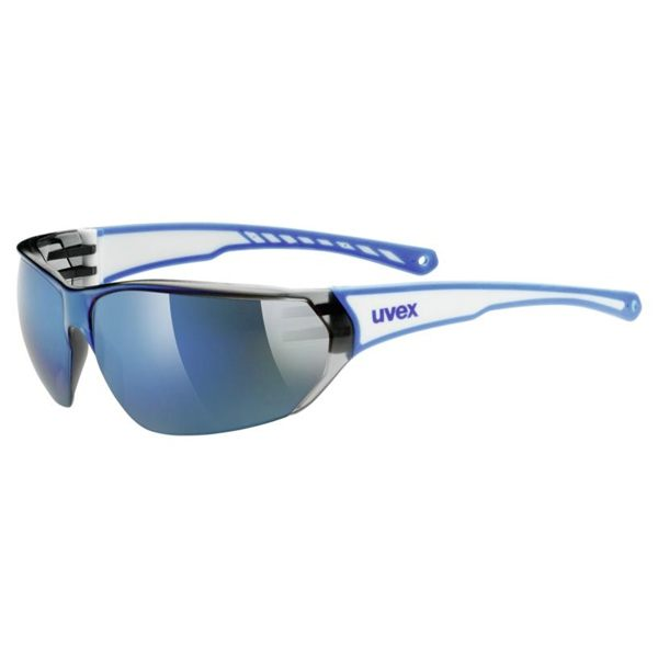 Uvex Sunglasses SP 204 - White/Blue