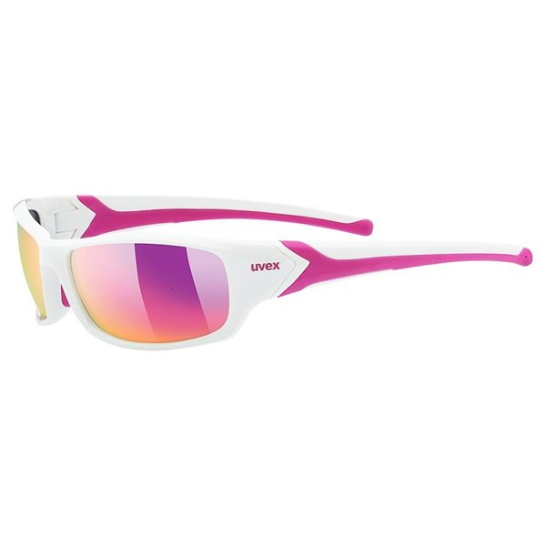 Uvex Sunglasses SP 211 - White/Pink