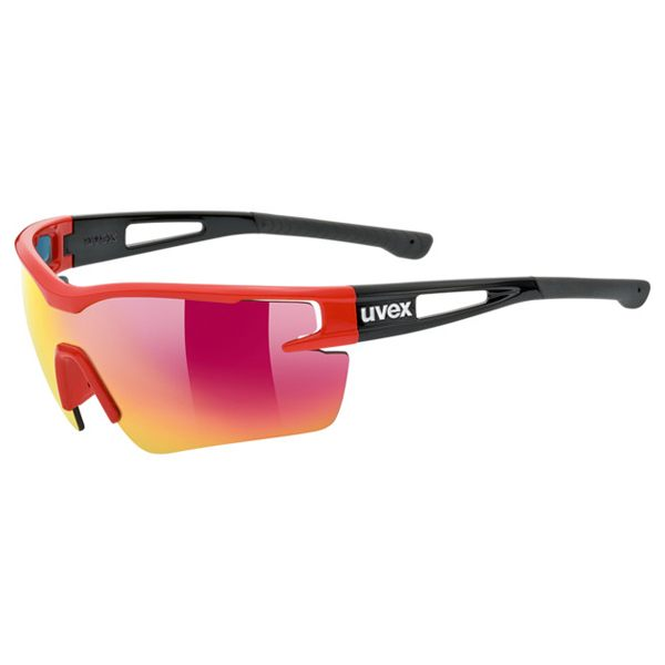 Uvex Sunglasses SP 116 - Red/Matt Black