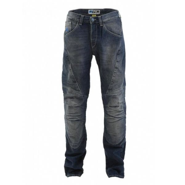 PMJ Dallas Mens Jeans - Mid Blue