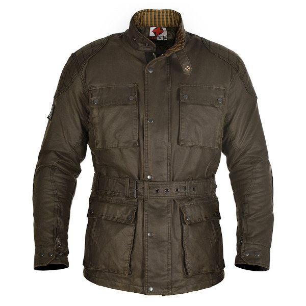 Oxford Heritage Wax Jacket - Olive