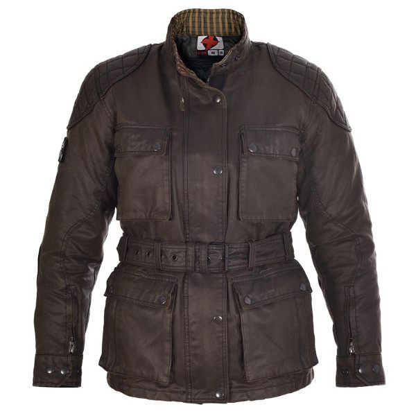 Oxford Heritage Wax Jacket Ladies - Brown