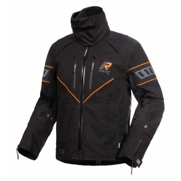 Rukka Nivala Gore-Tex Jacket - Black/Orange