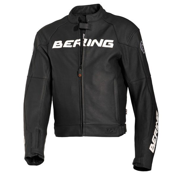 Bering Harrison Leather Jacket - Black