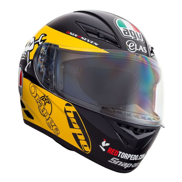 AGV K3 - Guy Martin Yellow