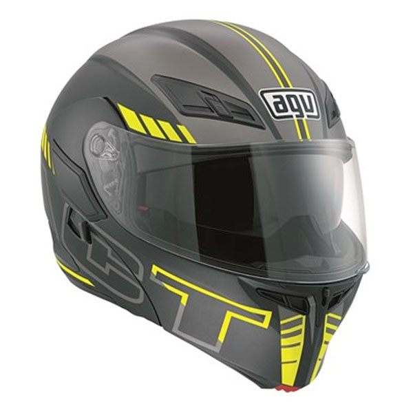 AGV Compact - Seattle Black/Silver/Yellow
