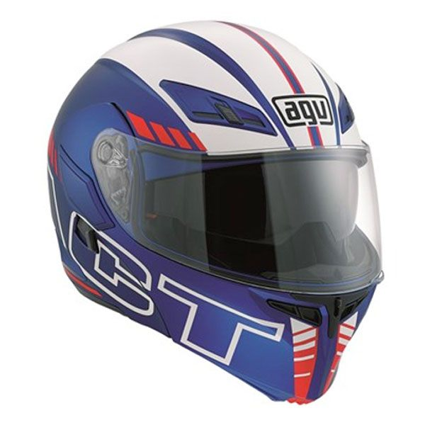 AGV Compact - Seattle Blue/White/Red